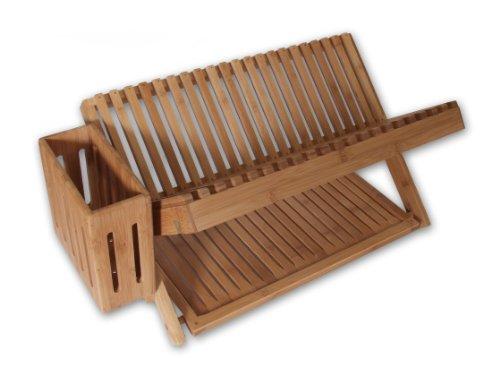 Island Bamboo Dish Rack 24-Inches