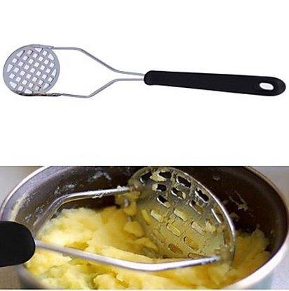 BuW Kitchen Tool Pressed Mashed Potato Pressed Mashed Garlic Masher Random Cloor