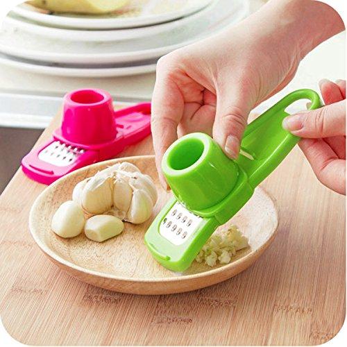 Pink Lizard Creative Manual Garlic Ginger Masher Grinding Tool Machine Garlic Crusher Presses Cutter