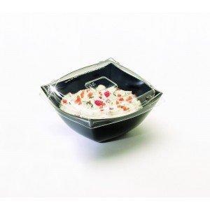 EMI Yoshi EMI-SB8LP Koyal Disposable Square Bowl Lids 8-Ounce Case of 100
