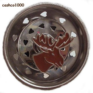 MOOSE Cabin LODGE Kitchen Sink STRAINER drain plug stopper home decor
