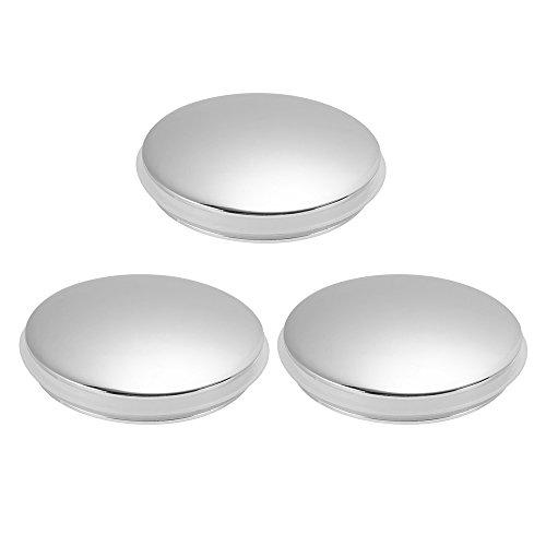 XCSOURCE 3pcs Bathroom Basin Sink Push Button Drain Stopper 37mm Brass Polished Chrome Pop Up Click Clack Plug for Bath Vanity Sink HS893