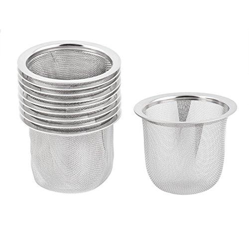 uxcell Metal Household Kitchen Tea Coffee Sink Basin Ball Basket Strainer 10pcs