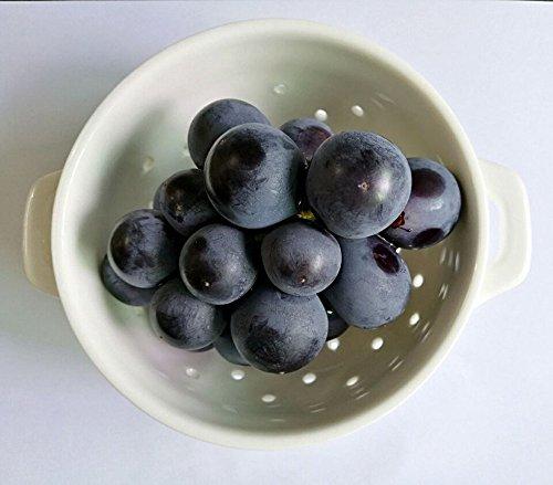 Ceramic Porcelain Colander Kitchen Strainer Bowl for Vegetable Fruit Kitchen Tool SmallWhite