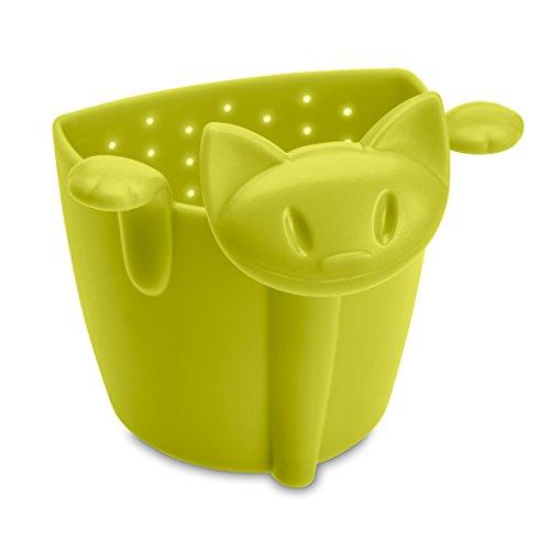 koziol MIMMI Tea Strainer Filter Tea Bag mustard green