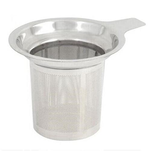 UNKE Stainless Steel Mesh Tea Infuser Cup Strainer Loose Tea Filter Sieve