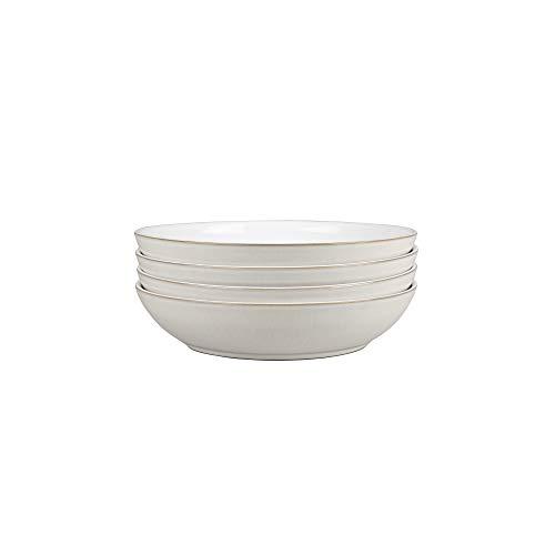 Denby CNV-0524 NATURAL CANVAS Set of 4 Pasta Bowl Set One size white neutral