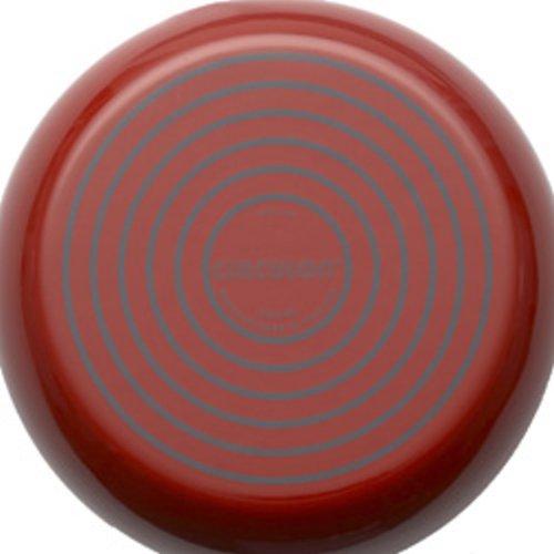 Circulon Contempo 2-Qt Enamel Whistling Teakettle Red
