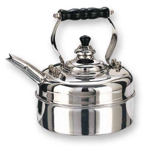 Old Dutch 3 Quart Stainless Steel Windsor Whistling Teakettle