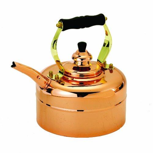 Old Dutch 868 Tri-Ply Copper Windsor Whistling Teakettle 3-Quart