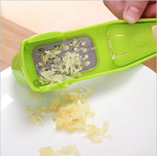 Jesica Manual Ginger Garlic Grater Kitchen Tool Green