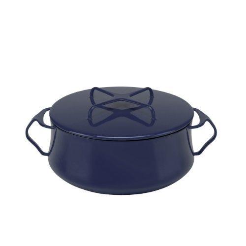 Dansk 834335 Kobenstyle Casserole 4-Quart Midnight Blue by Dansk