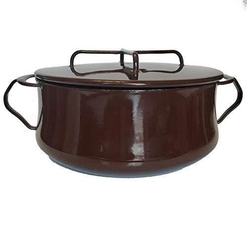 Dansk Kobenstyle Covered Casserole 3-Quart Brown