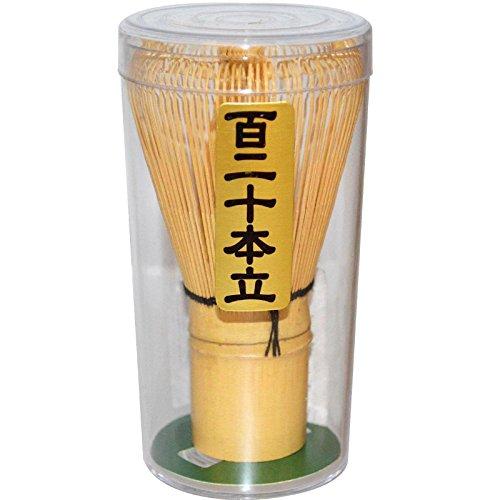 JapanBargain S-3679 Bamboo Matcha Tea Whisk Chasen 120 Prong