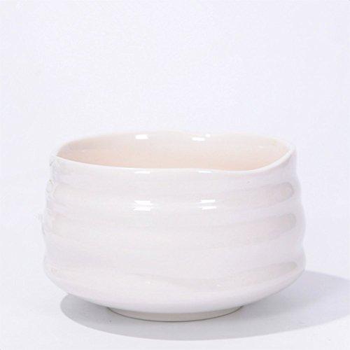 Home Soul Handcrafted Ceramic Matcha Tea Bowl - White