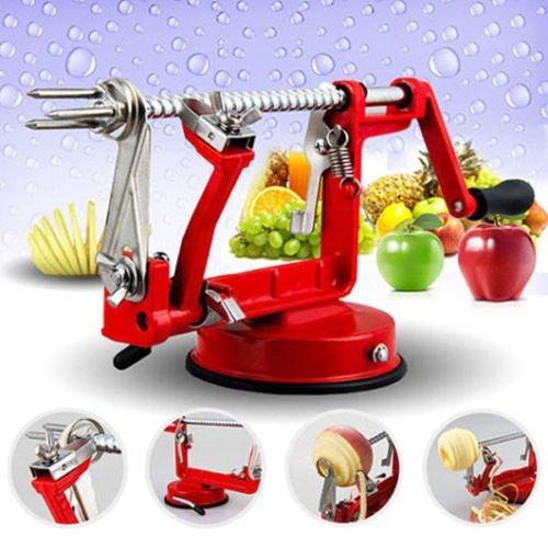 3 in 1 Apple Slinky Machine Peeler Corer Potato Fruit Cutter Slicer Kitchen Tool