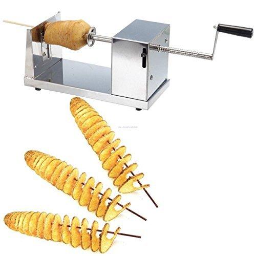 manual spiral potato chips twister slicer cutter tornado twist machine for batata