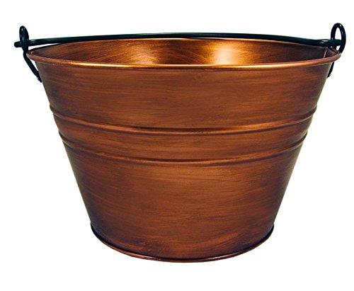 BREKX Old Tavern Copper Finish Antique Ice Wine Bucket - Bronze