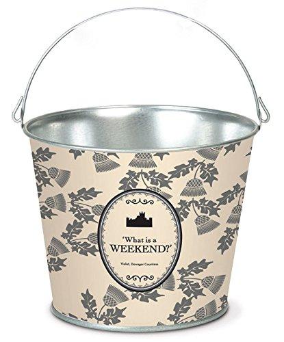 Behrens Downton Abbey Limited Edition Wine Bucket 5 quart Thistle Cream