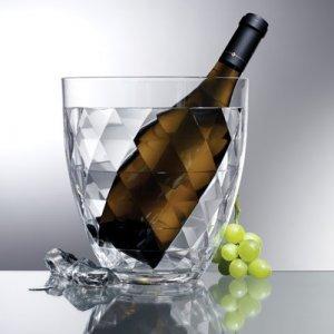 Prodyne Acrylic Diamond Cut Wine Bucket