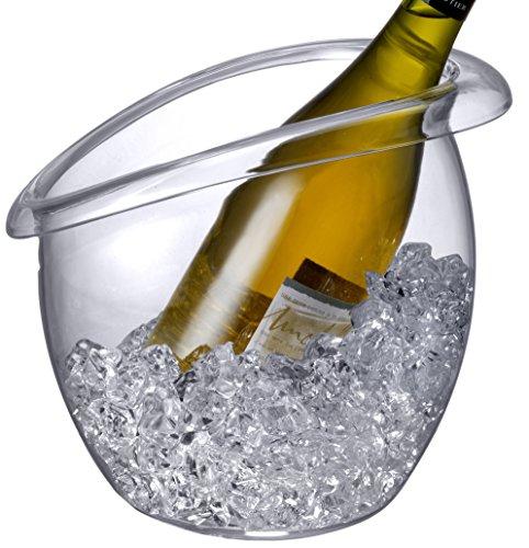 Prodyne BW-88 Bubble Wine Bucket Clear