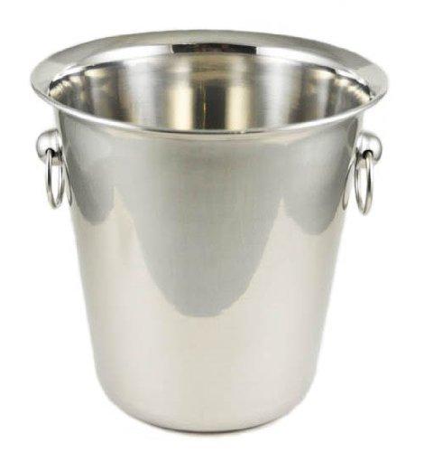 Winco WB-4 4 Quart Wine Bucket Set of 6