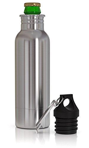 Beer Bottle Cooler Insulator and Holder Keeps Beer Cold and Tasty Longer Universal Fits Most 12 oz Bottles with Bottle Opener