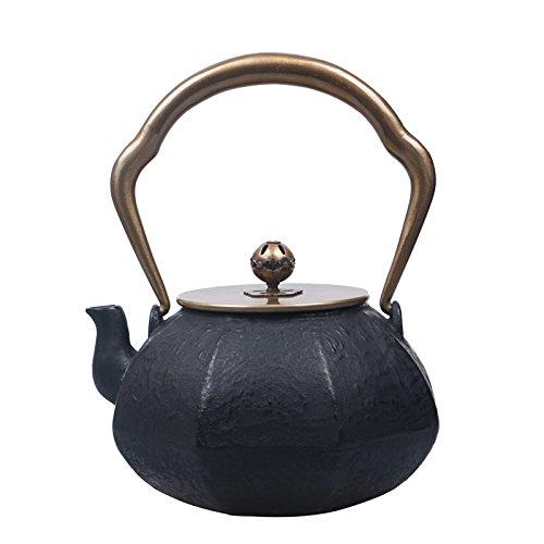 Black Teapot Metal 1100ml