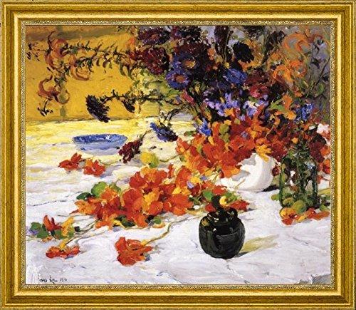 The Black Teapot by Jonas Lie - 15 x 19 Framed Premium Canvas Print