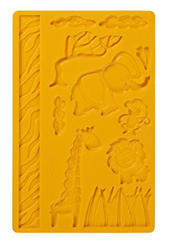 Wilton Fondant and Gumpaste Mold Jungle