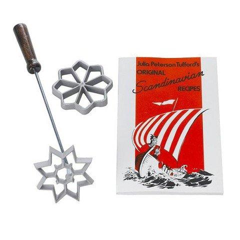Bethany Housewares Rosette Set and Scandinavian Recipe Book
