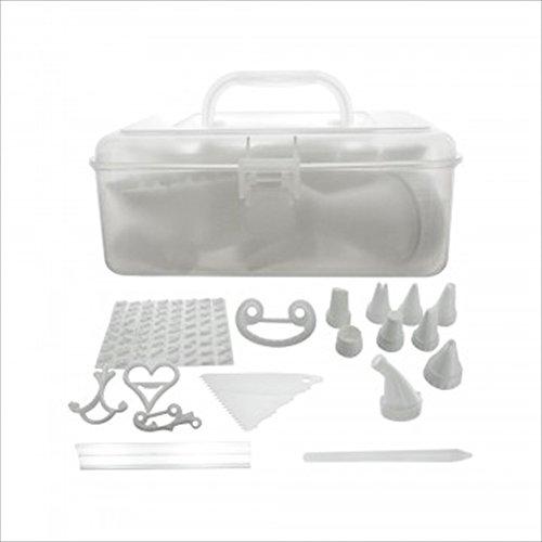 Cake Decorating Tool Kit With Caddy Ultimate Beginner Cupcake Cake Making Supplies
