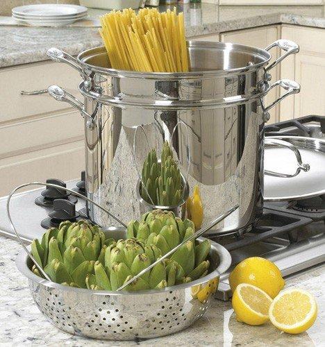 Cuisinart Chefs Classic Stainless 12-Qt Pasta Steamer Set