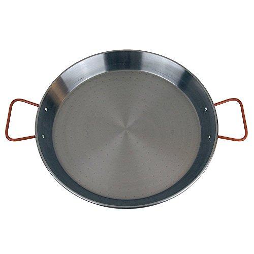 MageFesa Carbon Steel Paella Pan 12 Inch