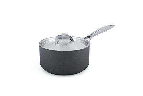 GreenPan Paris 2 Quart Non-Stick Dishwasher Safe Ceramic Covered Sauce Pan
