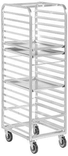 Channel Manufacturing 403A 12 Pan Front Load Aluminum Bun  Sheet Pan Rack - Assembled