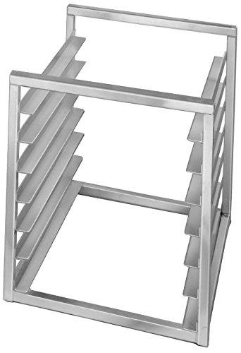 Channel Manufacturing RIR-10KD 10 Pan Aluminum End Load 20 12 x 23 x 23 Sheet  Bun Pan Rack for Reach-Ins - Unassembled