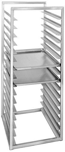 Channel Manufacturing RIR-24KD 24 Pan Aluminum End Load 20 12 x 23 x 51 Sheet  Bun Pan Rack for Reach-Ins - Unassembled