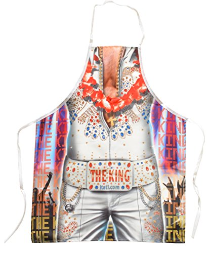 The King Novelty Funny Apron