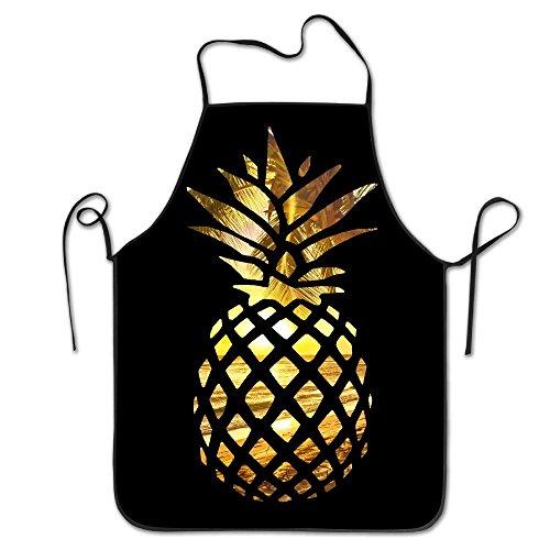 Sea Beach Hawaii Beach Sunset Pineapple Home Kitchen Apron BBQ Kitchen Cooking Bib Apron For Women Men