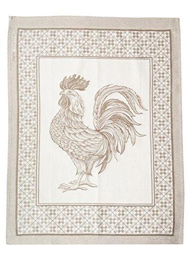 Abbiamo Tutto TES-GALLONAT Rooster Kitchen Towel Natural