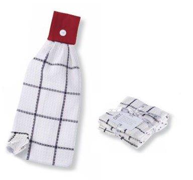 Split P Marina Hand Towel and Waffle Dish Towel Set