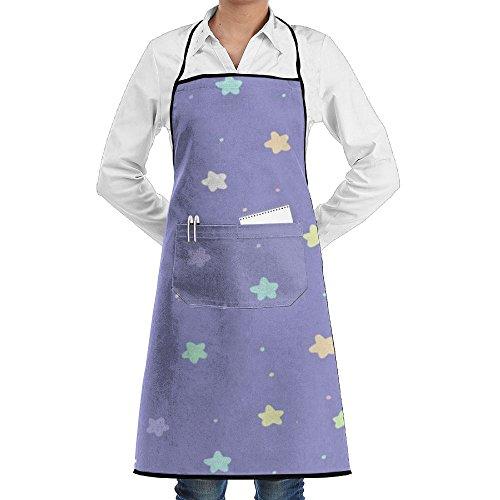 Wyfcxc Bright Star Designer Chef Aprons Cookingrn Studio Aprons Sewing Pocket