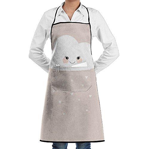 Wyfcxc Cloud Cute Designer Chef Aprons Adjustable Plus Size Bibrn Studio Aprons Sewing Pocket