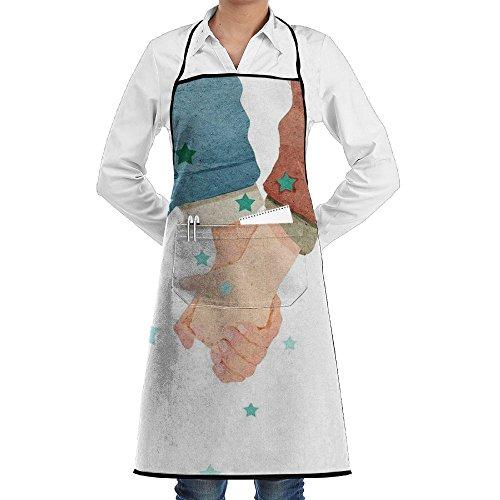 Wyfcxc Hand Designer Chef Aprons Cafern Studio Aprons Sewing Pocket
