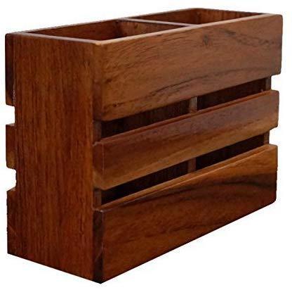 Wooden Cutlery HolderCutlery OrganizerMultipurpose StandPen StandKitchen Organizer