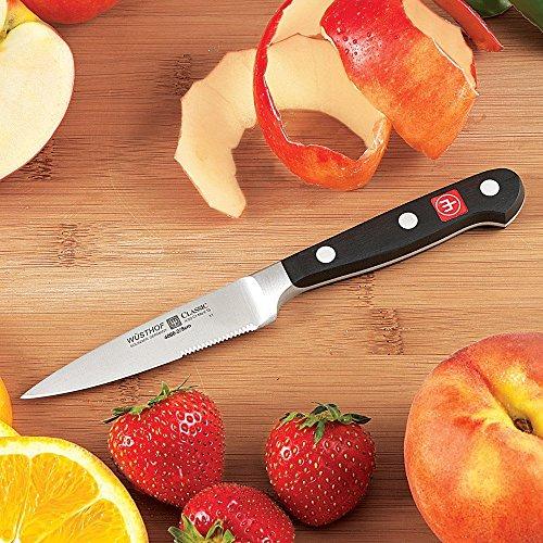 Wusthof Classic 35 Micro-Serrated Paring Knife
