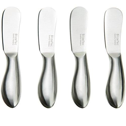 Spreader Knife Set BlizeTec Multipurpose Cheese and Butter Spreader Knives 4 Pcs