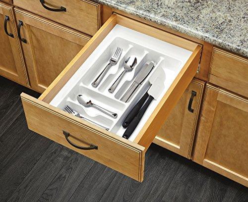 Rev-A-Shelf - CT-2W-52 - Medium White Cutlery Tray Drawer Insert