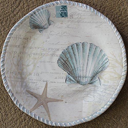 Tommy Bahama SeashellSeashore 100 Melamine Large 1575 Serving Platter